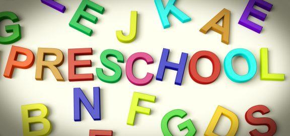 preschool-written-in-plastic-kids-letters
